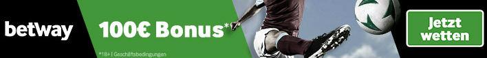 Betway Online Fussball-Wetten banner